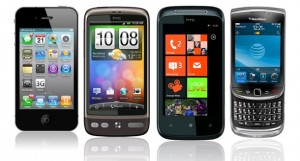 Android iPhone Windows Mobile Phones