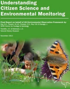 UK Environmental Observation Framework's report on the state of Citizen Science